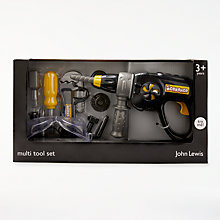 Buy John Lewis Toy Multi Tool Drill Set Online at johnlewis.com