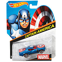 Buy Hot Wheels Marvel Character Car, Assorted Online at johnlewis.com