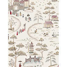 Buy Nina Campbell Cathay Parade Wallpaper Online at johnlewis.com