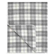 Buy John Lewis Winter Check Throw Online at johnlewis.com