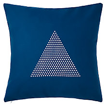 Buy John Lewis Felt Triangle Cushion Online at johnlewis.com