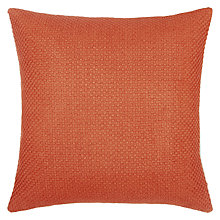 Buy John Lewis Luce Cushion, Paprika Online at johnlewis.com