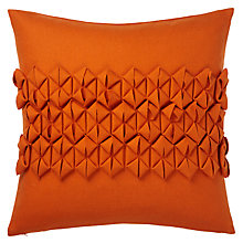 Buy John Lewis Pleated Felt Cushion Online at johnlewis.com