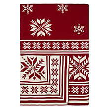 Buy John Lewis Snowflake Throw Online at johnlewis.com