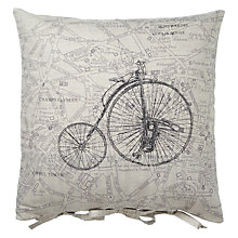 Buy John Lewis Maison Bicycle Cushion Online at johnlewis.com