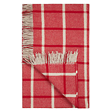 Buy Bronte by Moon New Masif Throw, Red Online at johnlewis.com