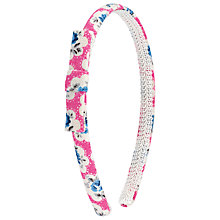 Buy Cath Kidston Provence Rose Hair Headband, Pink Online at johnlewis.com