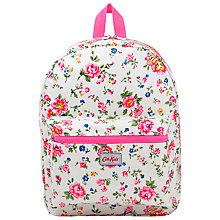 Buy Cath Kidston Children's Bramley Sprig Padded Rucksack, Pink Online at johnlewis.com