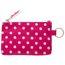 Buy Cath Kidston Children's Spot Pocket Purse With Keyring, Raspberry Online at johnlewis.com