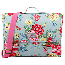 Buy Cath Kidston Children's Park Rose Satchel Backpack, Blue Online at johnlewis.com