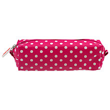 Buy Cath Kidston Little Spot Pencil Case, Raspberry Online at johnlewis.com