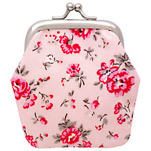 Buy Cath Kidston Children's Bramley Sprig Mini Clasp Purse, Pink Online at johnlewis.com