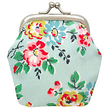 Buy Cath Kidston Children's Kingswood Rose Mini Clasp Purse, Blue Online at johnlewis.com