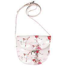 Buy Cath Kidston Children's Ballerina Saddle Bag, Pink Online at johnlewis.com