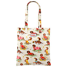 Buy Cath Kidston Children's Sausage Dogs Pocket Book Bag, Multi Online at johnlewis.com