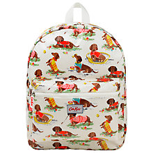 Buy Cath Kidston Children's Sausage Dogs Padded Rucksack, Multi Online at johnlewis.com