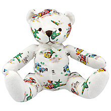 Buy Cath Kidston Transport Baby Teddy, Multi Online at johnlewis.com