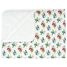 Buy Cath Kidston Transport Pram Blanket, Off White Online at johnlewis.com