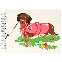 Buy Cath Kidston Novelty Sausage Dog Notepad Online at johnlewis.com