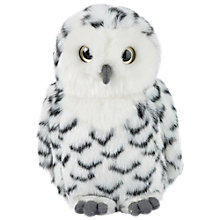 Buy Snowy Owl Turning Head Soft Toy Online at johnlewis.com