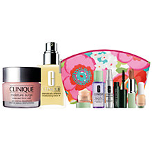 Buy Clinique Moisture Surge Extended Thirst Relief and Dramatically Different Moisturizing Lotion+ with FREE Clinique Bonus Time Makeup Bag Gift Online at johnlewis.com