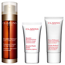 Buy Clarins Your Radiance Skincare Trio Online at johnlewis.com