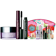 Buy Clinique High Impact Mascara, Black and Take The Day Off Cleansing Balm with FREE Clinique Bonus Time Makeup Bag Gift Online at johnlewis.com