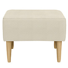 Buy John Lewis Carrie Footstool, Perrin Putty Online at johnlewis.com