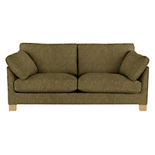 Buy John Lewis Ikon Large Sofa, Henley Gold Online at johnlewis.com