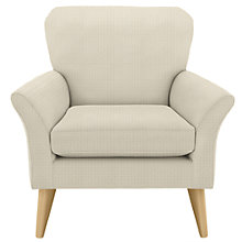 Buy John Lewis Carrie Armchair, Perrin Putty Online at johnlewis.com