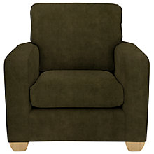 Buy John Lewis Gino Chair, Ruben Mocha Online at johnlewis.com