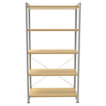 Buy Bisley Stage 80cm Shelf Unit, Oak Online at johnlewis.com