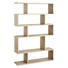 Buy Content by Terence Conran Balance Tall Shelf, Limed Oak Online at johnlewis.com