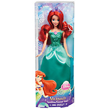 Buy Disney Princess Sparkling Princess Ariel Doll Online at johnlewis.com