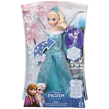 Buy Disney Frozen Singing Elsa Doll Online at johnlewis.com