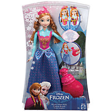 Buy Disney Frozen Royal Colour Anna Doll Online at johnlewis.com