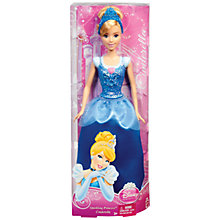 Buy Disney Princess Sparkling Princess Cinderella Doll Online at johnlewis.com