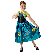 Buy Disney Frozen Fever Anna Dressing-Up Costume Online at johnlewis.com