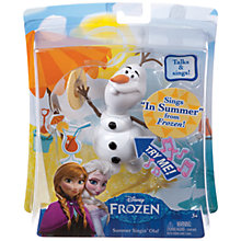Buy Disney Frozen Summer Singin' Olaf Online at johnlewis.com