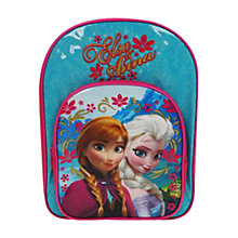 Buy Disney Frozen Backpack, Pink/Blue Online at johnlewis.com