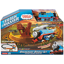 Buy Thomas & Friends TrackMaster Thomas The Tank Engine Breakaway Bridge Online at johnlewis.com