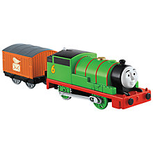 Buy Thomas & Friends TrackMaster Percy Train Online at johnlewis.com