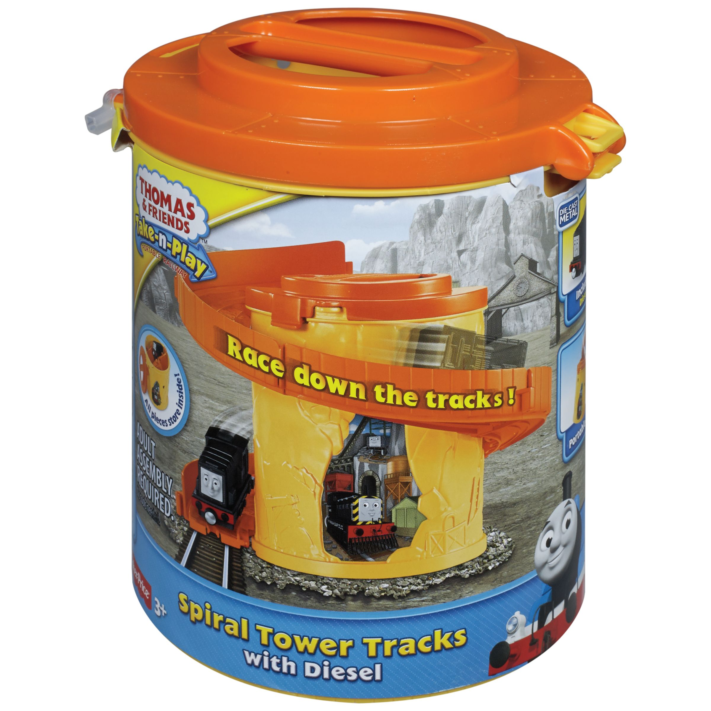 Thomas the Tank Engine Fisher-Price Thomas & Friends Take-n-Play Spiral Tower Tracks, Assorted