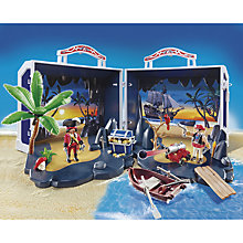 Buy Playmobil Pirates Treasure Chest Take Along Play Set Online at johnlewis.com