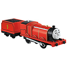 Buy Thomas & Friends James TrackMaster Motorised Train Online at johnlewis.com