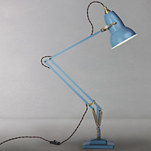 Buy Original 1227 Brass Desk Lamp, Dusty Blue Online at johnlewis.com