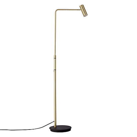 buy john lewis alpha led floor lamp satin brass john lewis With alpha led floor lamp