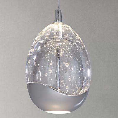 John Lewis Single Droplet LED Pendant Ceiling Light