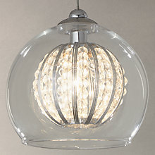 Buy John Lewis Claire Single Beaded Pendant Light Online at johnlewis.com