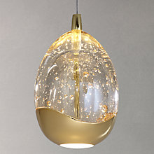 Buy John Lewis Single Droplet LED Pendant Ceiling Light Online at johnlewis.com